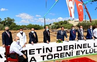 """""""Yonpaş Metin Derinel Lisesi"""" temeli atıldı"""