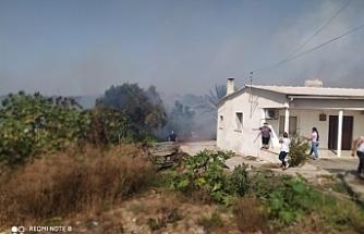 Akdeniz Köyünde yangın