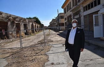 Arter, kapalı Maraş'ta pilot bölge ilan edilen bölgede incelemelerde bulundu