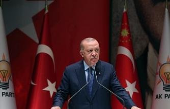 """Erdoğan: """"Dünyanın en büyük 10 ekonomisinden biri olma hedefimize muhakkak ulaşacağız"""""""