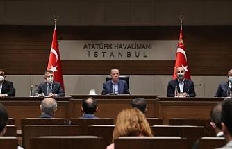 """Erdoğan: """"Türkiye vesayeti de darbe zihniyetini de gömeli çok oldu"""""""