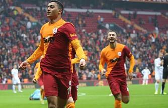 Galatasaray'dan tek gol