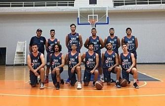 """GAÜ Basketbol Koçu Gürel Alp: """"Bu sezon finale odaklandık"""""""