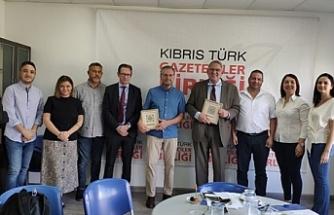 Gazeteciler Birliği, İsveç'ten yetkilileri ağırladı