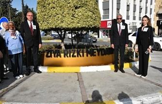 Girne Ziya Rızkı Meydanı, Rızkı'nın ölüm yıl dönümünde açıldı