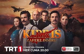 """""""Kıbrıs Zafere Doğru"""" dizisinin belgeseli yapıldı"""