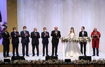 Tatar, Çavuşoğlu'nun kızının nikah törenine katıldı