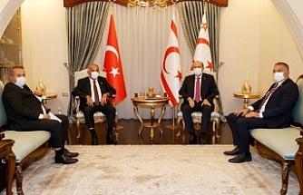 Tatar, Sennaroğlu ve Başsavcı ile görüştü
