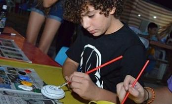 11. Pulya Festivali'nde çocuklar yaratıcılıklarını sergiledi