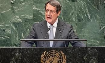Rum lider BM özel oturumunda konuştu ve Türkiye'yi eleştirdi