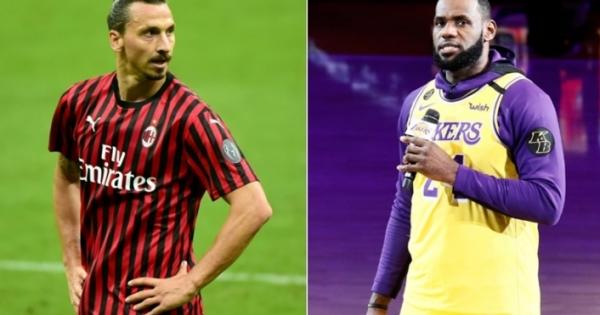 Η πολεμική αναπτύσσεται μεταξύ του LeBron James και του Zlatan Ibrahimovic