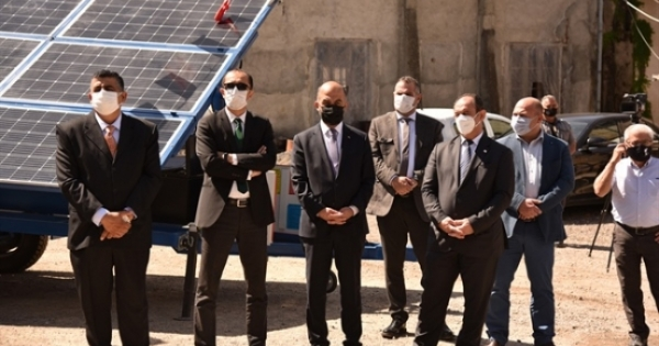 Η φωτιά παραδόθηκε από την Τουρκία δωρίστηκε κάμερες παρακολούθησης και ηλιακούς συλλέκτες