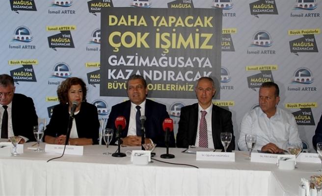 """"""" 4 YILDA EŞİT HİZMET GÖTÜREREK BÜYÜK PROJELERE İMZA ATTIK"""""""