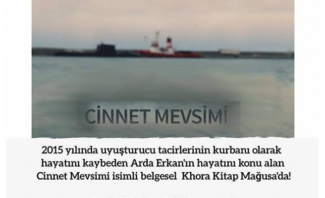 """""""CİNNET MEVSİMİ"""" KHORA KİTAP MAĞUSA'DA"""