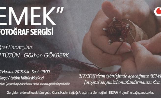 """""""EMEK"""" FOTOĞRAF SERGİSİ YARIN AÇILIYOR"""
