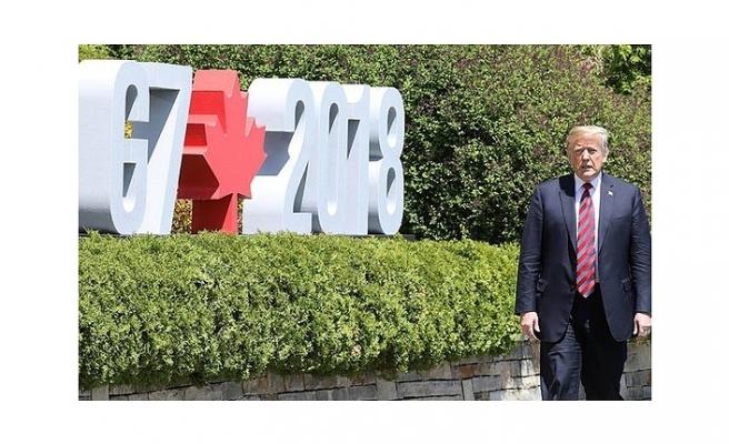 G7 ZİRVESİNDE ABD ENDİŞESİ...