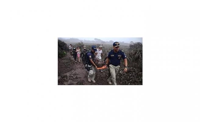 GUATEMALA'DA YANARDAĞ PATLADI: 25 ÖLÜ