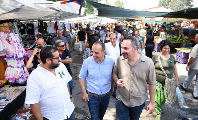 HARMANCI, KKTC ULUSLARARASI FUARI VE LEFKOŞA AÇIK PAZAR'I ZİYARET ETTİ