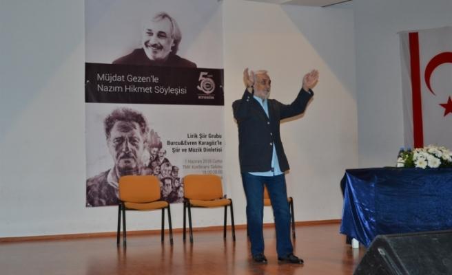 NAZIM HİKMET KTOEÖS'ÜN ORGANİZASYONUYLA ANILDI
