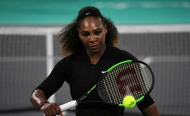 SERENA WILLIAMS ÇEKİLDİ