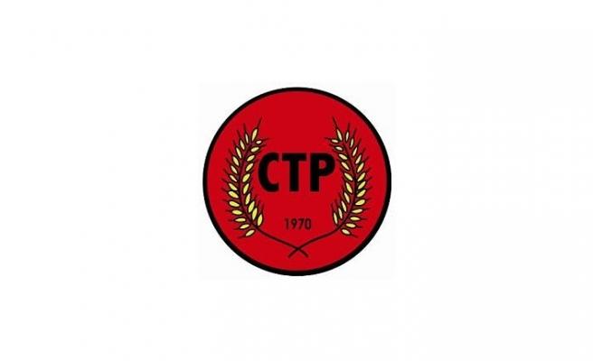 CTP, LUTE'UN GELİŞİNİ SELAMLADI VE ÇÖZÜM KONUSUNDA KARARLILIK BELİRTTİ