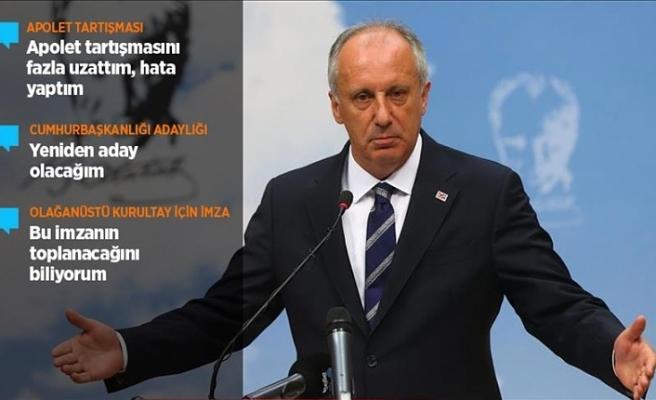 """""""HATALARIMI BİLİYORUM… YENİDEN ADAY OLACAĞIM"""""""