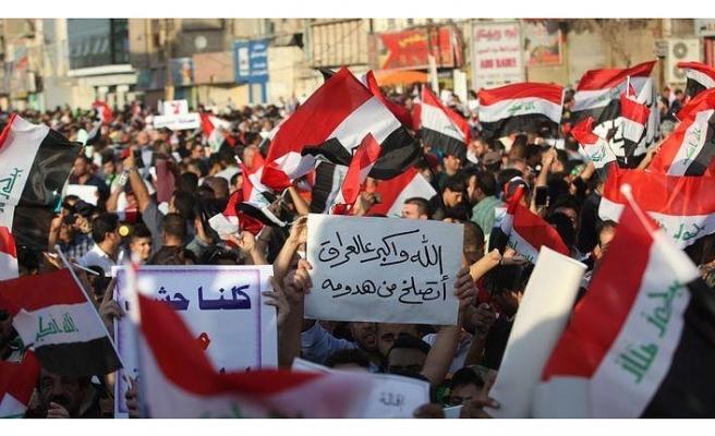 IRAK'IN GÜNEYİNDEKİ GÖSTERİLER BAŞKENTE SIÇRADI