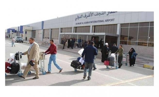 IRAK'TA NECEF HAVALİMANI YÖNETİMİ GÖREVDEN ALINDI