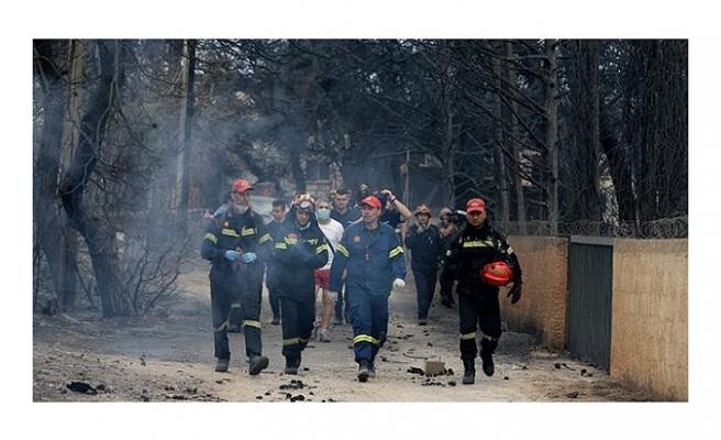 """YUNANİSTAN'DA DARBECİLER YANGIN FACİASINDAN KURTARILDI"" İDDİASI"