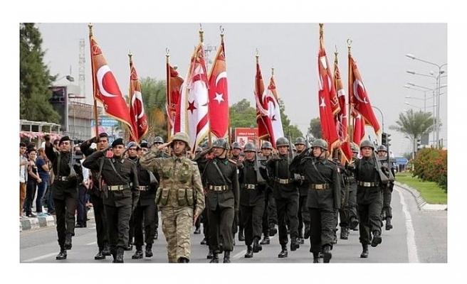 30 AĞUSTOS ZAFER BAYRAMI TÜRKİYE'YLE BİRLİKTE KKTC'DE DE TÖRENLERLE KUTLANACAK