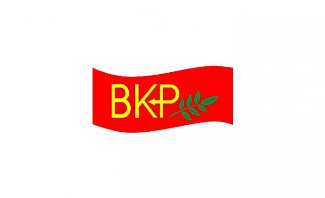 BKP'DEN EKONOMİ AÇIKLAMASI
