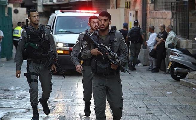 İSRAİL POLİSİ KUDÜS'TE 7 FİLİSTİNLİYİ GÖZALTINA ALDI
