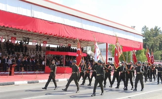 LEFKOŞA'DA 30 AĞUSTOS ZAFER BAYRAMI TÖRENLERİ DÜZENLENDİ