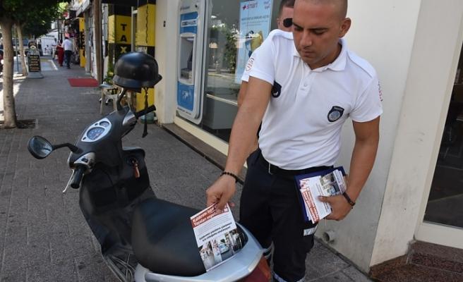 """""""KALDIRIMI İŞGAL ETME, YAYALARI ENGELLEME""""..."""