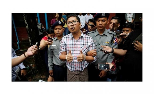MYANMAR'DAKİ REUTERS MUHABİRLERİNE YEDİŞER YIL HAPİS