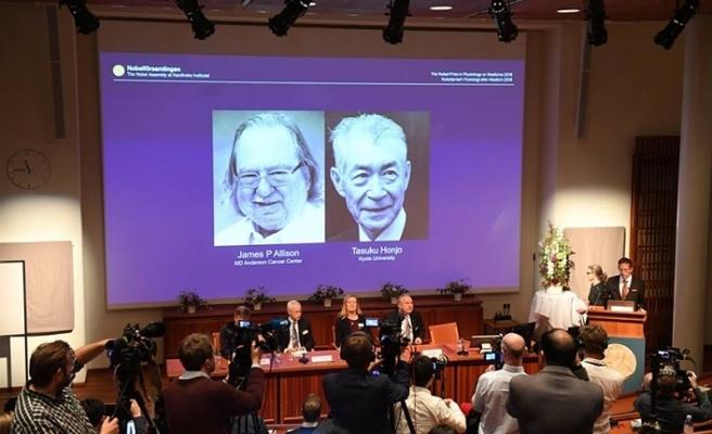 NOBEL TIP ÖDÜLÜ KANSER ALANINDAKİ ÇALIŞMALARINDAN ÖTÜRÜ ABD'Lİ JAMES P. ALLİSON İLE JAPON TASUKU HONJO'YA VERİLDİ