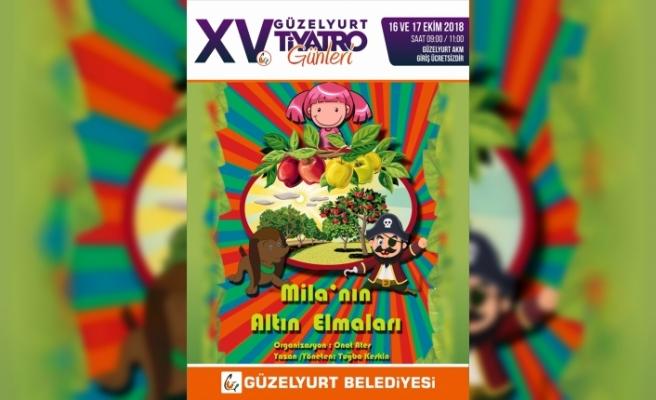 XV. GÜZELYURT TİYATRO GÜNLERİ 16 EKİM'DE BAŞLIYOR