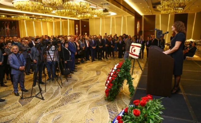 15 Kasım Bakü'de kutlandı