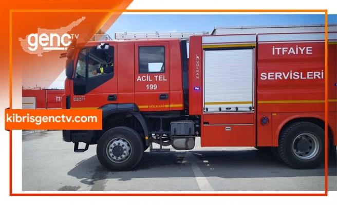 Adem Kader Ltd. ambarında yangın