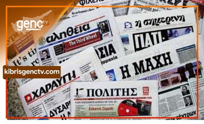 Anastasiades'in basın toplantısı Rum Gazetelerine böyle yansıdı