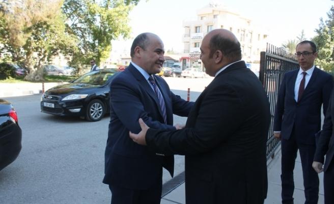 Atakan, Büyükelçi'yi kabul etti