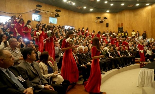 Atatürk Kültür Merkezi'nde  tören düzenlendi