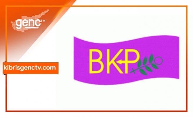 BKP Kadın Meclisi mesaj yayınladı