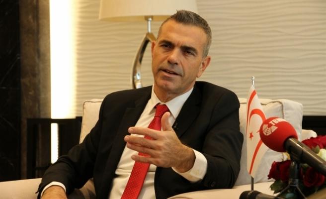 """""""Bölgede istikrar için Kıbrıs sorununun çözümü önemli"""""""