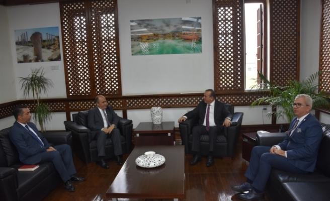 Büyükelçi Başçeri, Bakan Ataoğlu'nu ziyaret etti