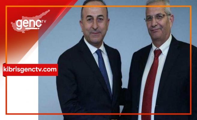 Çavuşoğlu, Kiprianu ile görüştü
