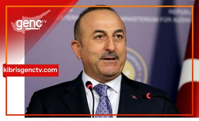 """Çavuşoğlu'ndan Rum tarafına: """"Önce hangi çözümü istediğinizi söyleyin"""""""