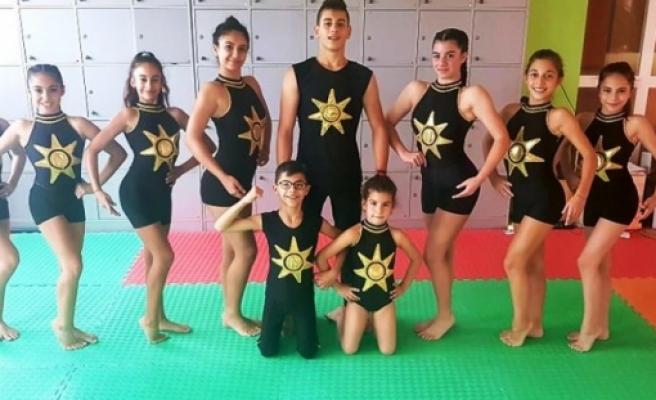 Çocuk Fitnessçiler Polonya'da yarışacak