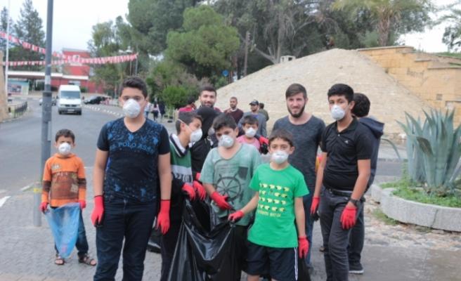 ESKAD Gençlik Merkezi'nden çevre temizliği