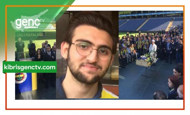 Fenerbahçe Stadı'nda tören düzenlendi.